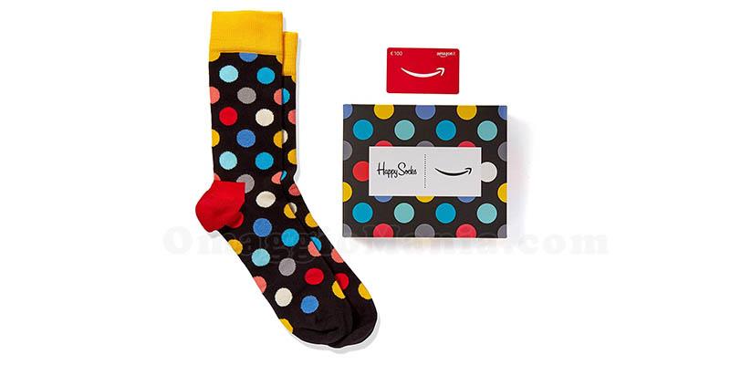 marchi riconosciuti prezzo più basso con piuttosto carino Calzini Happy Socks omaggio con Amazon - OmaggioMania