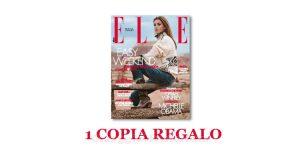 coupon omaggio Elle 14