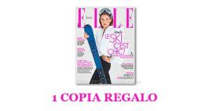 coupon omaggio Elle 15 2018
