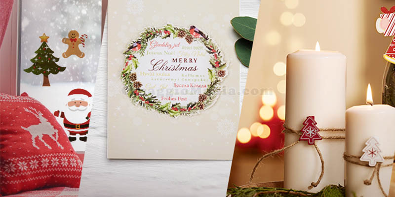 decorazione natalizia Lidl