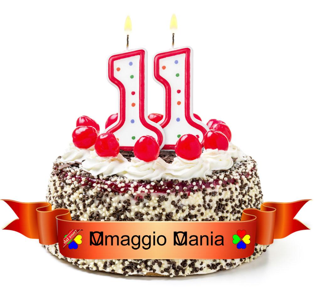 torta compleanno 11 anni OmaggioMania
