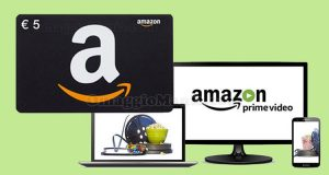 5 euro omaggio Amazon Prime Video