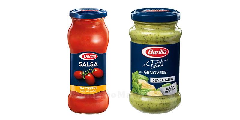 Barilla pesti genovese e salsa datterini