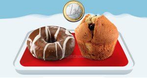 Donut o Muffin McDonald's a 1 euro