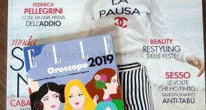 Elle 18 2018 con Oroscopo 2019 di Mary
