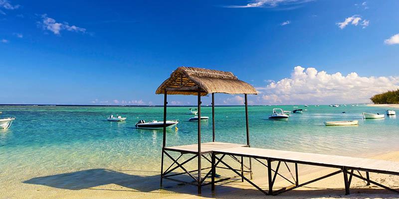Isole Mauritius mare