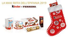 Maxi Riffa Epifania 2019 Kinder Ferrero