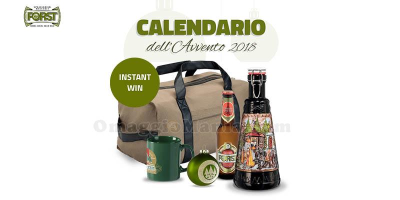 Calendario Avvento Birra.Calendario Dell Avvento Di Birra Forst Vinci Ogni Giorno