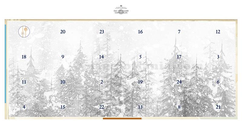 calendario Avvento Ole Lynggaard Copenhagen 2018