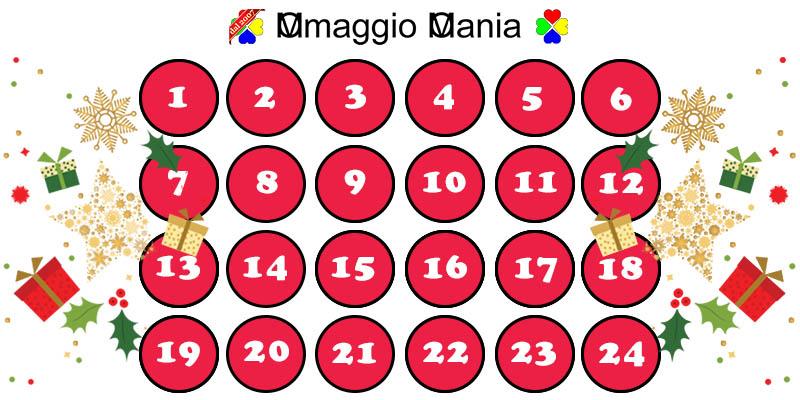 calendario Avvento OmaggioMania 2018