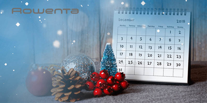 calendario Avvento Rowenta 2018