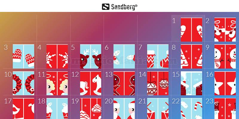 calendario Avvento Sandberg 2018