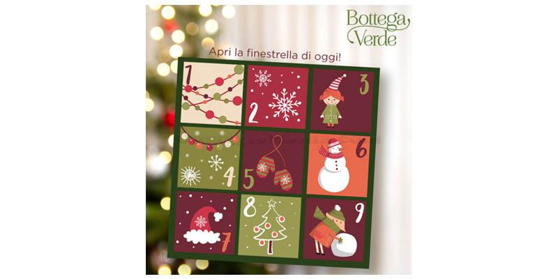 Bottega Verde Calendario Avvento.Calendario Dell Avvento Bottega Verde Ogni Giorno 1 Omaggio