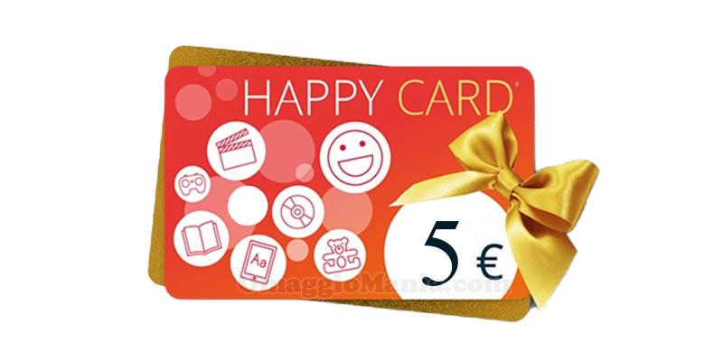 happy card IBS 5 euro