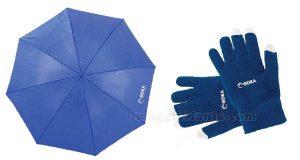 ombrello e guanti Edra Oil
