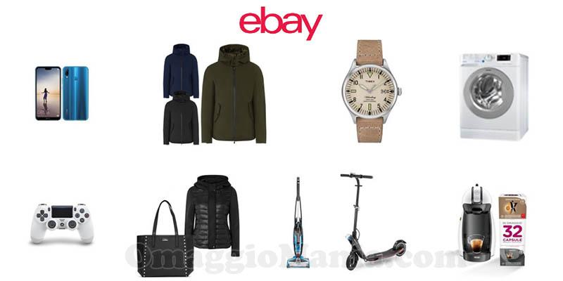 sconto eBay 10%