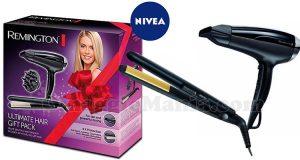 Remington gift pack con Nivea Viso