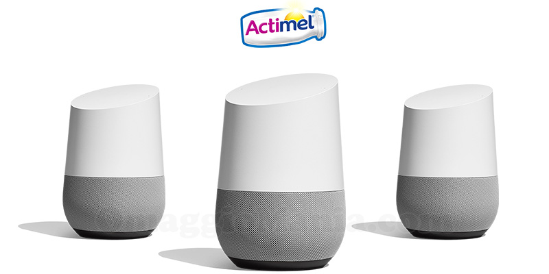 Vinci Google Home con Actimel
