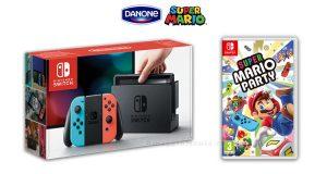 Vinci Nintendo con Danone 2019
