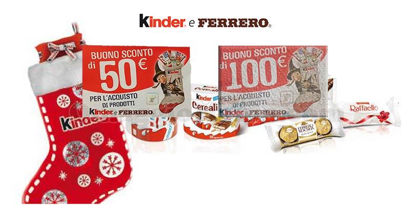 buoni 50 e 100 euro con Riffa Epifania 2019