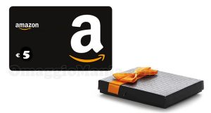 buono Amazon 5 euro con le carte regalo