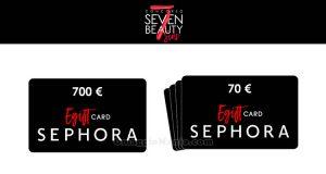 concorso Sephora 7 Beauty Sins