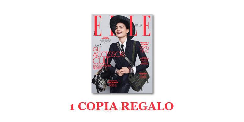 coupon omaggio Elle 20 2018