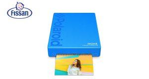 fotocamera Polaroid Mint con Fissan ama i tuoi ricordi