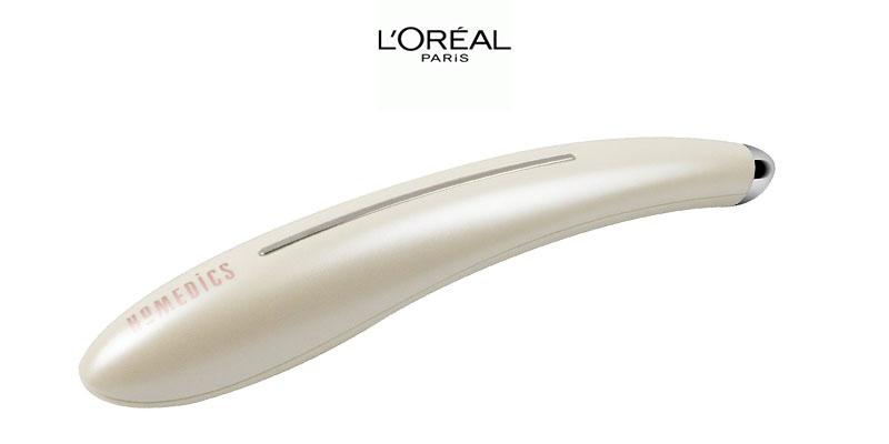 massaggiatore contorno occhi Homedics con L'Oréal