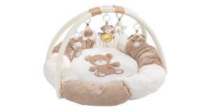 palestrina Baby Fehn 3D Activity Teddy Rainbow