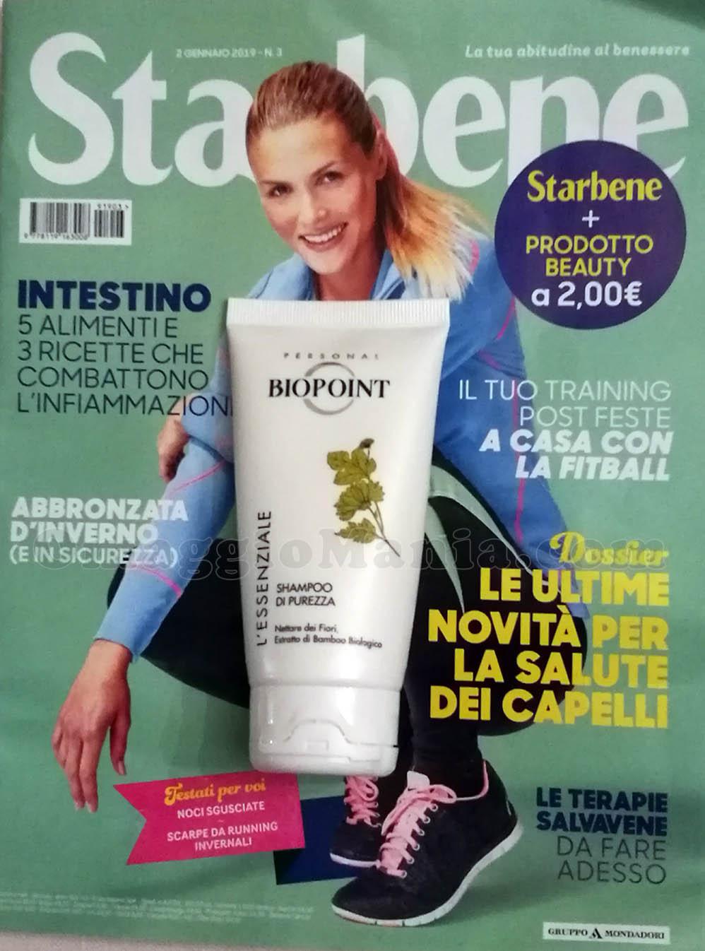 shampoo Biopoint L'Essenziale con Starbene n.3