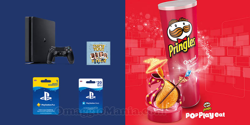 vinci PS4 o PlayLink con Pringles