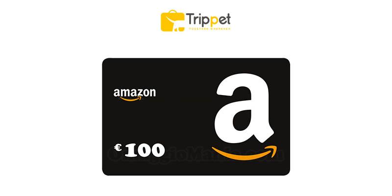 vinci buono Amazon con Trippet