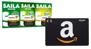 vinci con Saila buono Amazon 5 euro