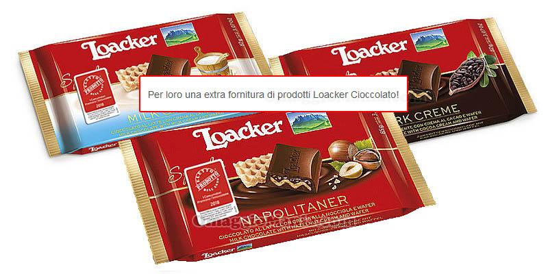 vincitori contest Loacker The Insiders