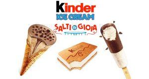Kinder Ice Cream Salti di gioia tour