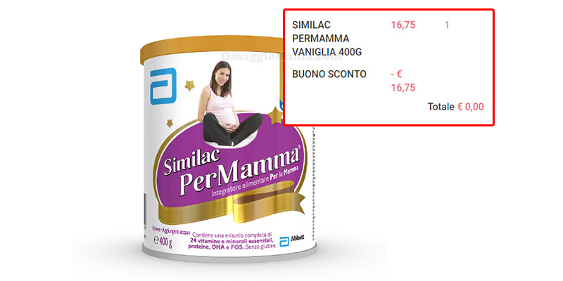 Similac PerMamma gratis