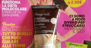 rivista Starbene 10 2019 con shampoo Bottega Verde