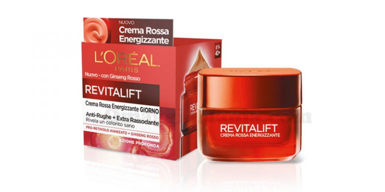Crema rossa energizzante L'Oréal Paris: sei tra i tester..