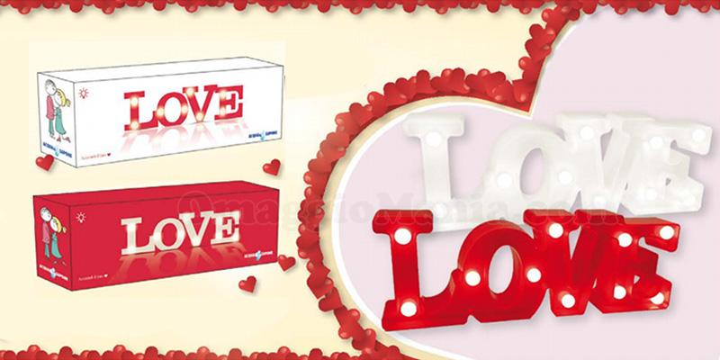 lampada Love da Acqua & Sapone