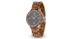 orologio in legno Elia LAiMER