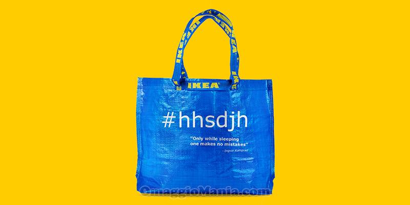 shopper IKEA omaggio #hhsdjh