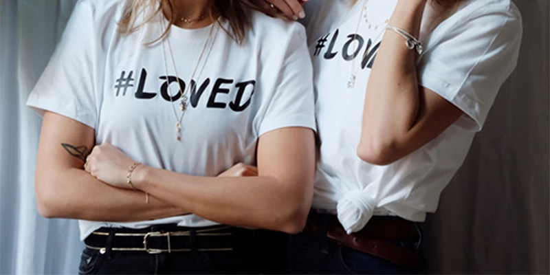 t-shirt Pandora Loved