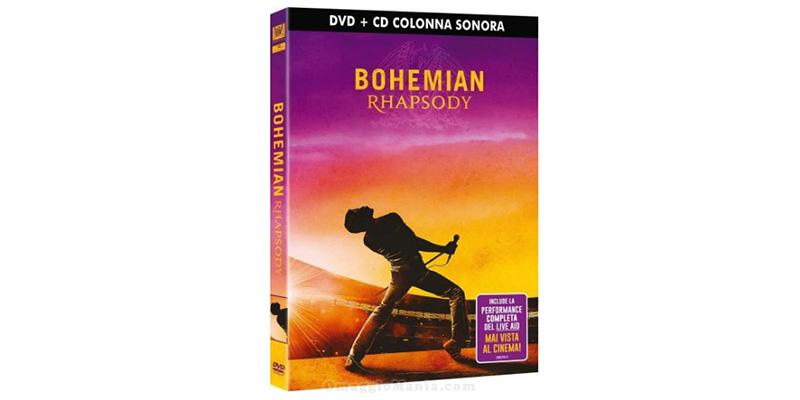 DVD e CD colonna sonora Bohemian Rhapsody