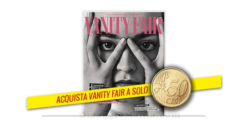 coupon Vanity Fair 64 50cent