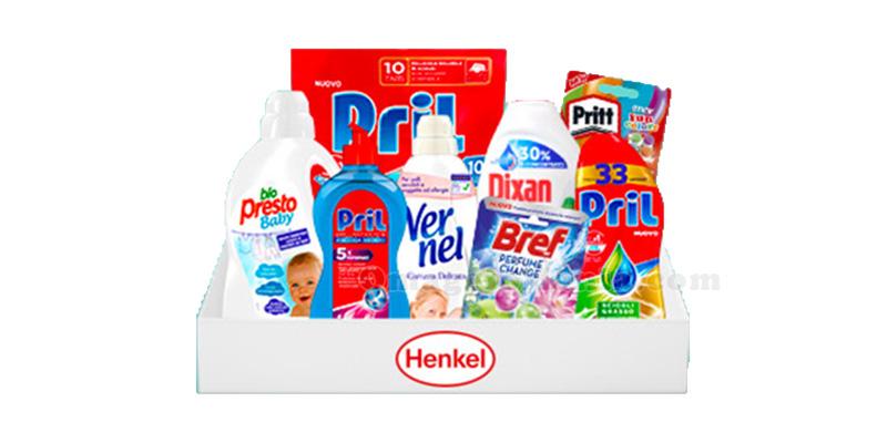 kit di prodotti Henkel con MammacheClub