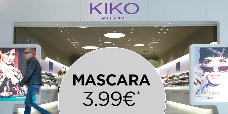 mascara Kiko 3,99 euro