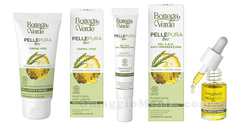 prodotti Bottega Verde Pelle Pura Bio