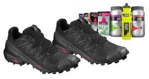 scarpe Salomon Speedcross 5 e kit prodotti SiS