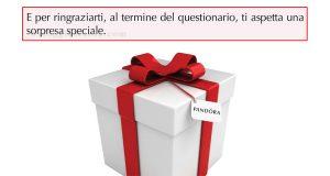 sorpresa speciale questionario Pandora